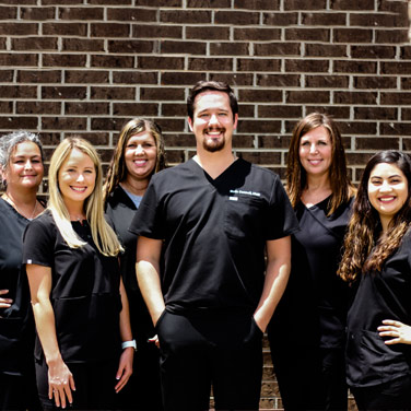 The friendly team at Singing River Dentistry in Russellville!